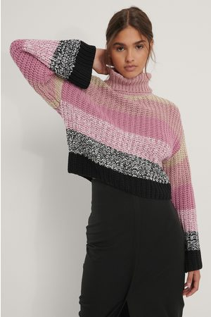 NA-KD Pull Maille - Pink,Multicolor