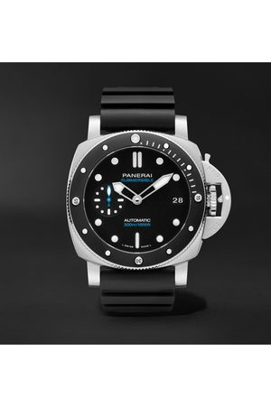 PANERAI Homme Montres - Submersible Automatic 42mm Stainless Steel and Rubber Watch