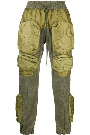 READYMADE Pantalon matelassé à poches cargo