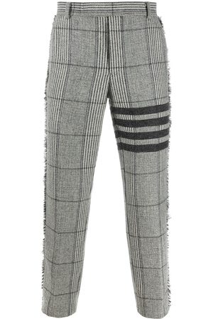 Thom Browne Pantalon chino à carreaux