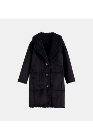 Scotch&Soda Manteau droit col revers long