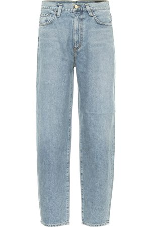 Goldsign Jean ample The Curved à taille haute