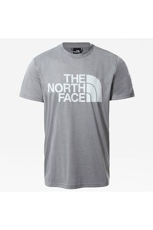 The North Face T-shirt Reaxion Easy Pour Homme Mid Grey Heather Taille L