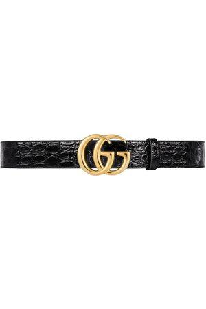 Gucci Ceinture GG Marmont à plaque logo