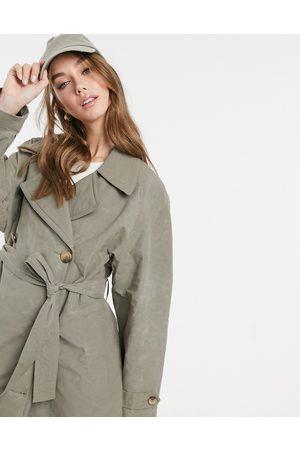 ASOS Trench-coat à surpiqûres contrastantes