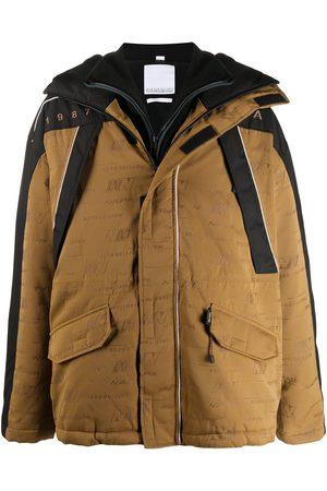 NAPA Manteau oversize à logo imprimé