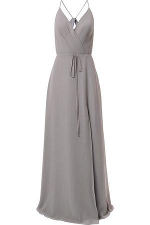 Marchesa Notte Bridesmaids Robe longue à taille nouée