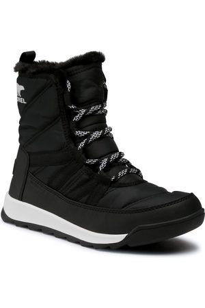 sorel Bottes de neige - Whitney II Short Lace NL3820 Black 010