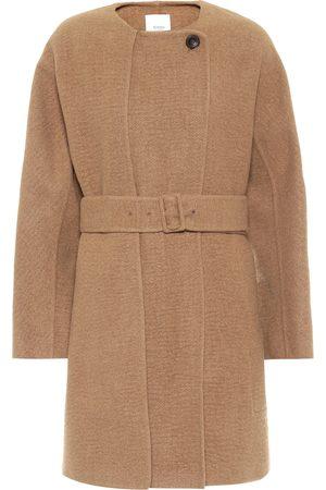 Agnona Manteau en laine de chameau