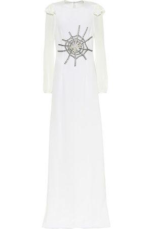 RODARTE Robe longue du soir en soie à ornements