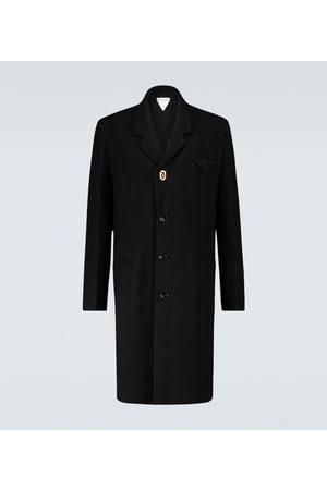 Bottega Veneta Homme Manteaux - Manteau en laine mélangée