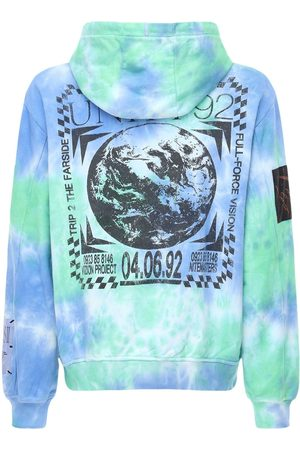 "McQ Sweat-shirt En Coton Tie & Dye ""genesis Ii"""