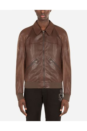 Dolce & Gabbana Collection - BLOUSON EN CUIR D'AGNEAU male 46