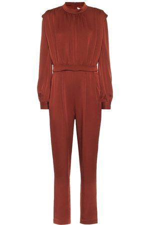 VERONICA BEARD Femme Combinaisons - Combi-pantalon Kavia en crêpe de satin