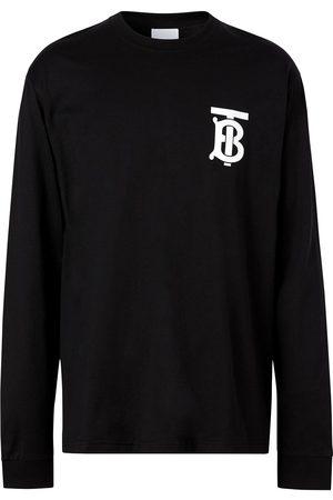 Burberry T-shirt à logo poitrine