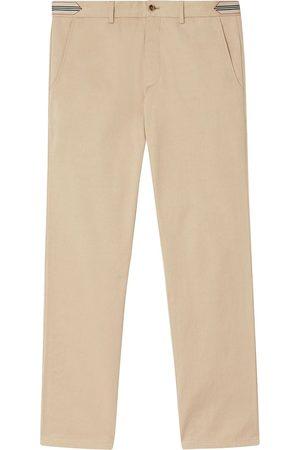 Burberry Pantalon chino à détails rayés