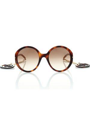 Gucci Lunettes de soleil rondes à ornements