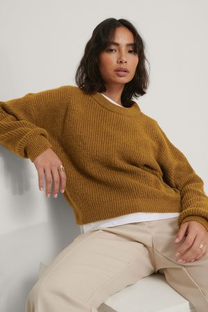 NA-KD Pull En Maille Ample - Brown