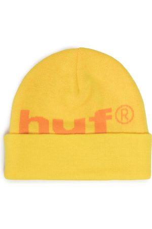 Huf Bonnet - 98 Logo Beanie BN00093 Yellow