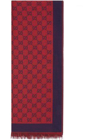 Gucci Étole en coton jacquard GG