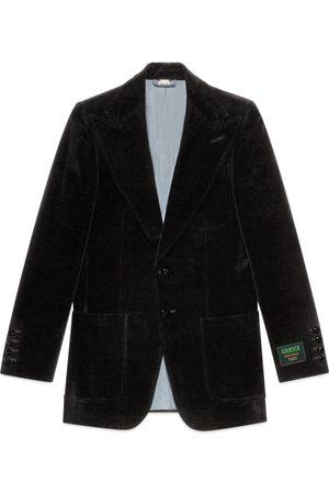 Gucci Veste en velours avec étiquette
