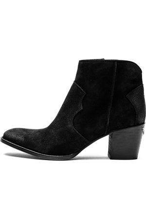 Zadig & Voltaire Bottines Molly Suede Noir - Taille 36 - Femme
