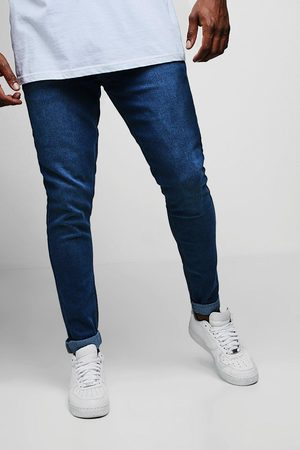 Boohoo Homme Pantalons Slim & Skinny - Jean skinny délavé big and tall Homme
