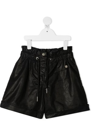 Alberta Ferretti Faux leather shorts