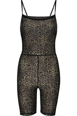 The Upside Combi-pantalon à motif léopard
