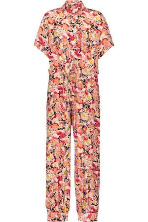 Stella McCartney Combi-pantalon Johanna en soie à fleurs