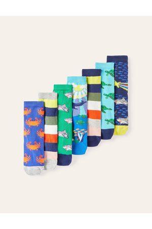 Boden 7 paires de chaussettes MLT Garçon Boden