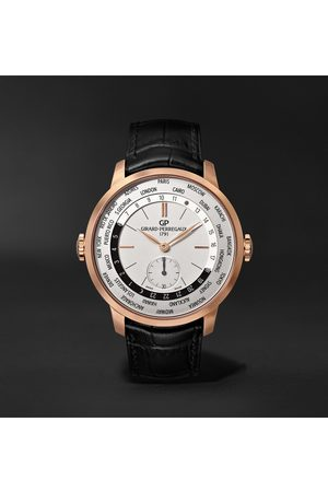 Girard Perregaux Homme Montres - 1966 WW.TC Automatic 40mm 18-Karat Rose Gold and Alligator Watch, Ref. No. 49557-52-131-BB6C