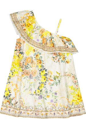 Camilla Fille Robes asymétriques - Robe asymétrique en coton à fleurs