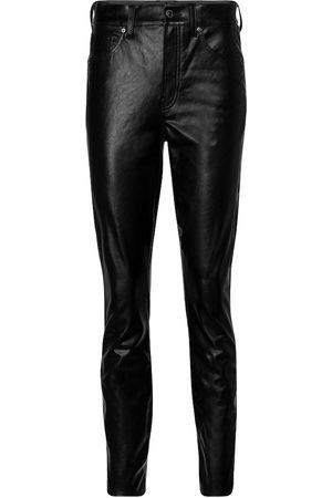 VERONICA BEARD Pantalon skinny Debbie en cuir synthétique