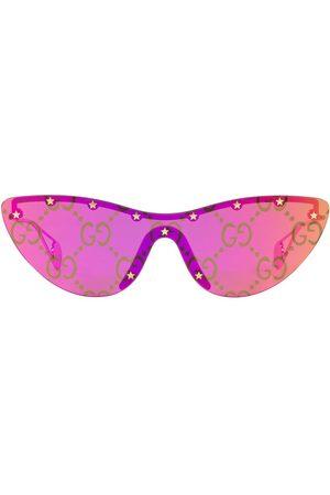 Gucci Eyewear Lunettes de soleil GG0666S à monture papillon