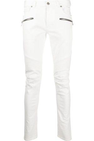 Balmain Jean slim à poches zippées