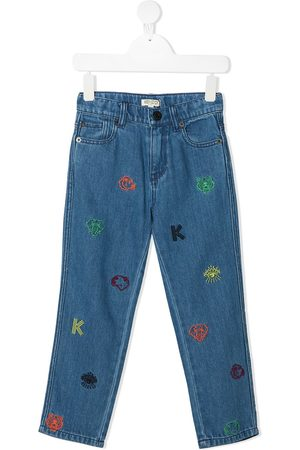 Kenzo Embroidered jeans