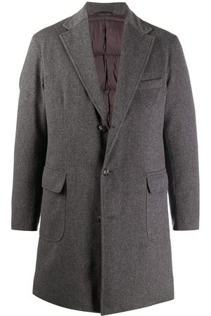 BARBA Notch-lapel single-breasted coat