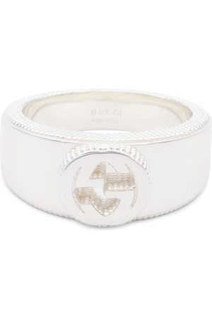 Gucci Bague Interlocking-G en sterling