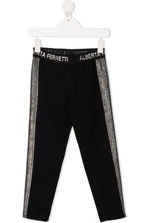 Alberta Ferretti Pantalon de jogging à bandes contrastantes