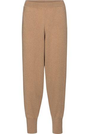Stella McCartney Pantalon de survêtement en cachemire et laine