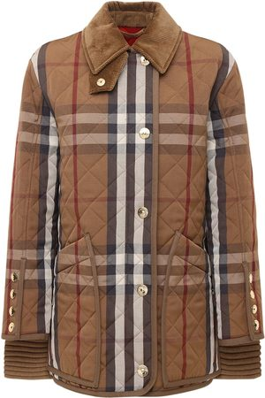 Burberry Check Quilted Jacket