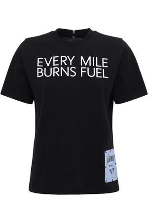 McQ T-shirt En Jersey De Coton Imprimé