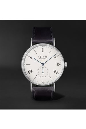 Nomos Glashütte Ludwig Neomatik 41 Limited Edition Automatic 40.5mm Stainless Steel and Leather Watch, Ref. No. 291