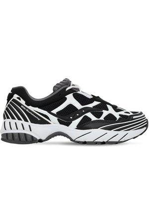 Saucony White Mountaineering Grid Web Sneakers