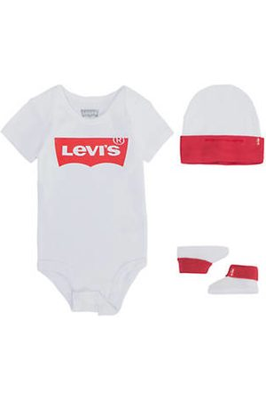Levi's Classic Batwing Infant 3pc Set / White