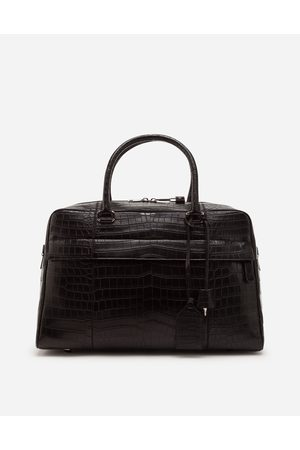 Dolce & Gabbana Collection - SAC DE VOYAGE EN CROCO male OneSize