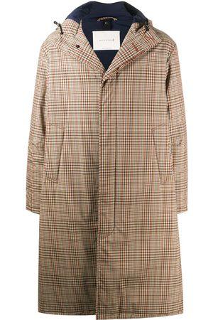 MACKINTOSH Manteau mi-long à carreaux
