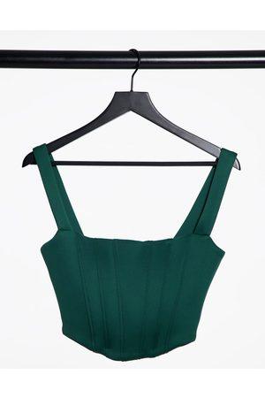 True Violet Femme Bustiers - Exclusivité - Top bustier avec détail corset