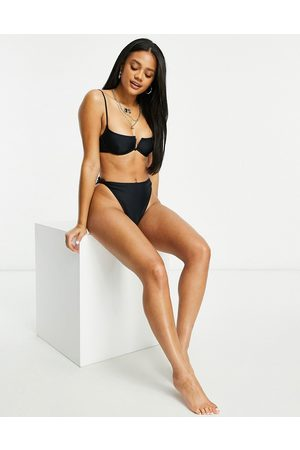 South Beach Mix and match - Haut de bikini à armature avec liens